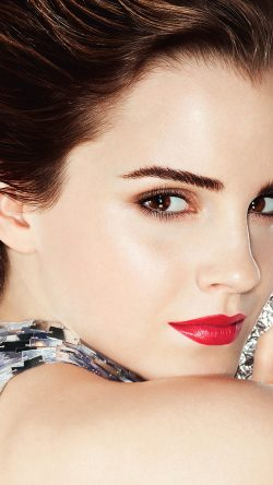papers.co-hi43-emma-watson-face-red-sexy-cute-33-iphone6-wallpaper