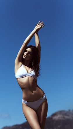 papers.co-hj58-kendall-jenner-bikini-summer-cool-sexy-33-iphone6-wallpaper