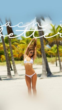 papers.co-hj84-beach-girl-bikini-summer-cool-33-iphone6-wallpaper