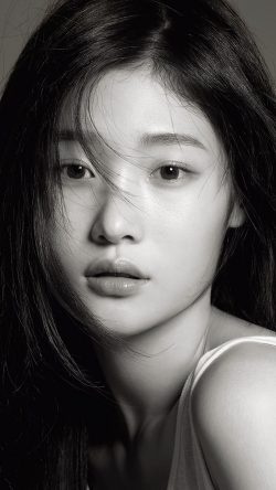 papers.co-hj98-ioi-chaeyeon-bw-dark-girl-kpop-33-iphone6-wallpaper