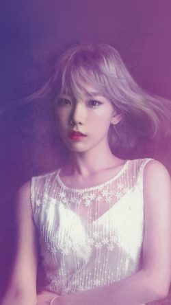 papers.co-hk82-taeyeon-snsd-kpop-girl-purple-pink-33-iphone6-wallpaper