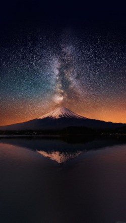 papers.co-mc68-wallpaper-milky-way-on-mountain-fuji-sky-33-iphone6-wallpaper