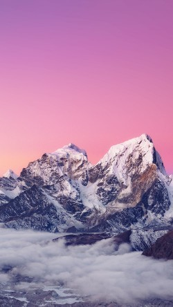 papers.co-me89-himalaya-sunset-white-mountain-art-33-iphone6-wallpaper