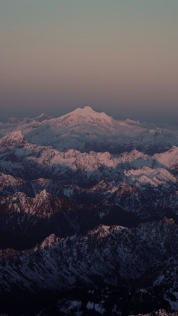 papers.co-mg85-mountain-dark-snow-in-sunset-shadow-nature-33-iphone6-wallpaper