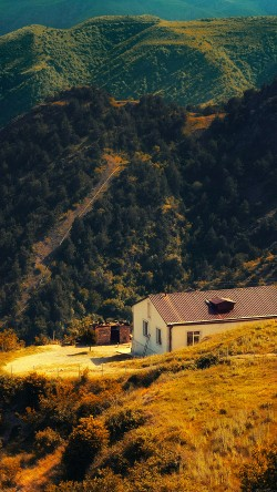 papers.co-mh15-karabakh-armenia-nature-with-mountain-house-fall-33-iphone6-wallpaper