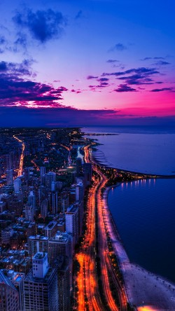 papers.co-mh45-chicago-city-night-sky-view-scape-ocean-beach-33-iphone6-wallpaper