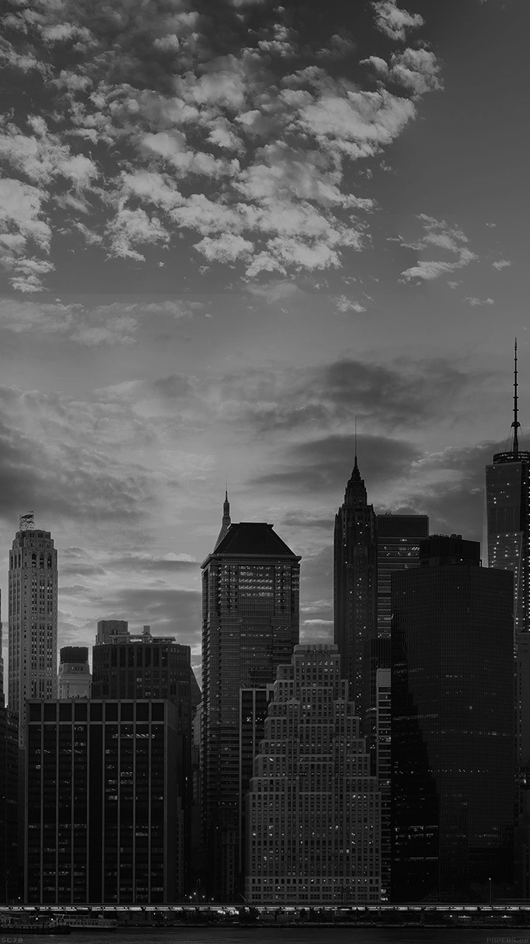 Iphone6papers Mh69 Cityscape Skyline High Buildings