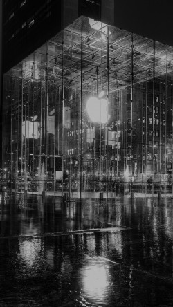 papers.co-mh74-raining-apple-store-newyork-at-night-dark-33-iphone6-wallpaper
