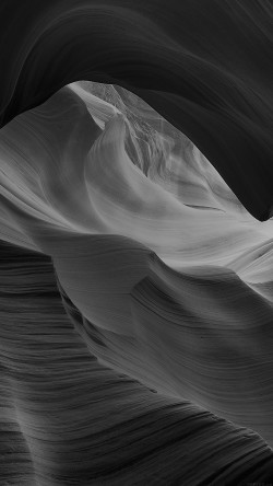 papers.co-mi29-antelope-canyon-bw-black-mountain-rock-nature-33-iphone6-wallpaper