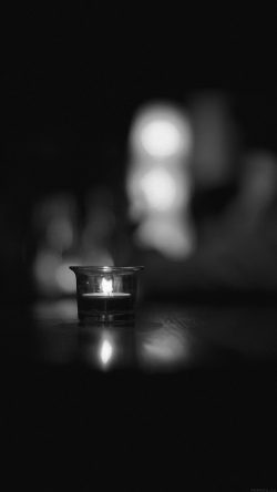 papers.co-mj14-candle-light-night-bw-bokeh-romantic-33-iphone6-wallpaper