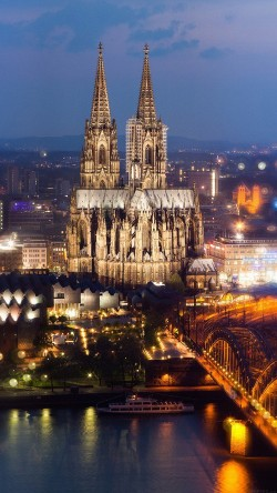papers.co-mj20-cologne-cathedral-hohenzollern-bridge-spain-city-33-iphone6-wallpaper
