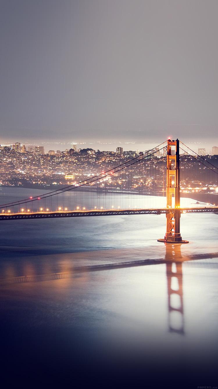 Iphone6papers Mj87 Golden Gate Bridge River Nature