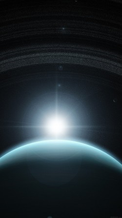 papers.co-mj93-space-planet-blue-interstellar-light-33-iphone6-wallpaper
