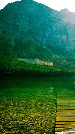 papers.co-ml13-little-chief-lake-green-mountain-nature-33-iphone6-wallpaper