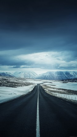 papers.co-ml47-road-to-snow-mountain-nature-winter-33-iphone6-wallpaper