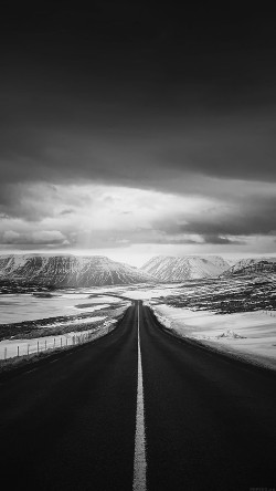 papers.co-ml49-road-to-heaven-snow-mountain-bw-dark-nature-winter-33-iphone6-wallpaper