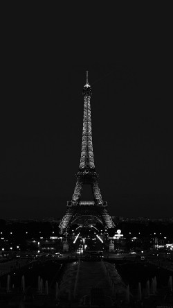 papers.co-ml79-paris-night-france-city-bw-dark-eiffel-tower-33-iphone6-wallpaper