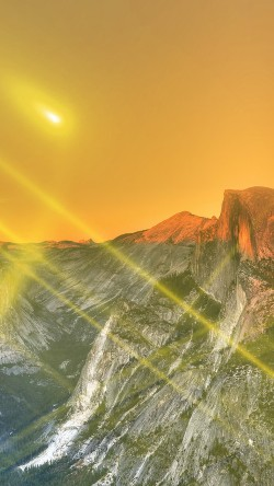 papers.co-mm28-yosemite-mountain-art-yellow-flare-sky-nature-33-iphone6-wallpaper