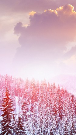 papers.co-mo00-winter-mountain-snow-white-red-nature-33-iphone6-wallpaper