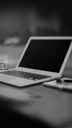 papers.co-mp33-macbook-air-bokeh-art-apple-dark-bw-33-iphone6-wallpaper