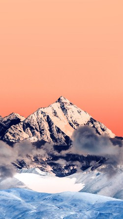 papers.co-mr58-snow-solo-orange-mountain-high-nature-33-iphone6-wallpaper