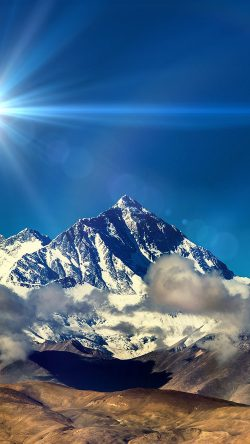 papers.co-mr59-snow-solo-mountain-high-nature-blue-flare-33-iphone6-wallpaper