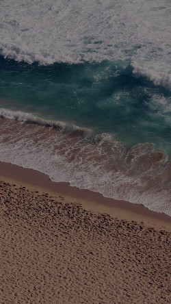 papers.co-ms17-beach-wave-coast-nature-sea-water-summer-dark-33-iphone6-wallpaper