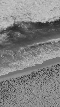 papers.co-ms18-beach-wave-coast-nature-sea-water-summer-bw-dark-33-iphone6-wallpaper