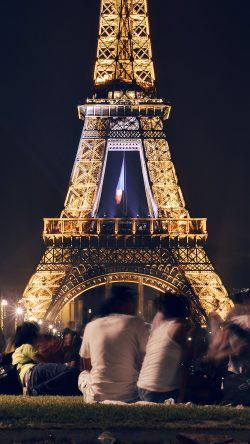 Iphone6papers Ml77 Paris Night France City Eiffel Tower