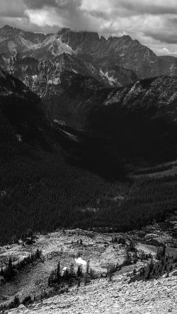 papers.co-mt09-great-mountain-view-dark-bw-nature-33-iphone6-wallpaper