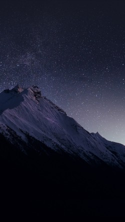 papers.co-mt89-mountain-night-snow-dark-star-33-iphone6-wallpaper