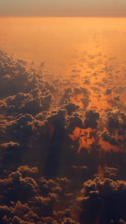 papers.co-mv77-cloud-nine-sky-fly-sunset-red-nature-33-iphone6-wallpaper