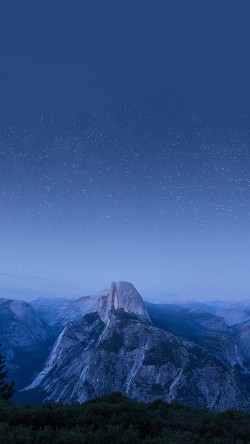 papers.co-mw09-el-capitan-mountain-wood-night-sky-star-blue-33-iphone6-wallpaper