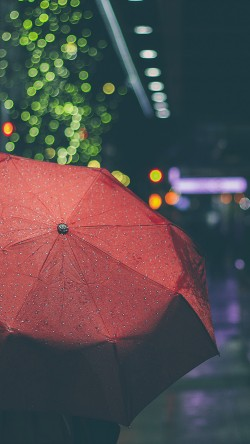 papers.co-mw52-rainyday-umbrella-bokeh-city-night-dark-33-iphone6-wallpaper