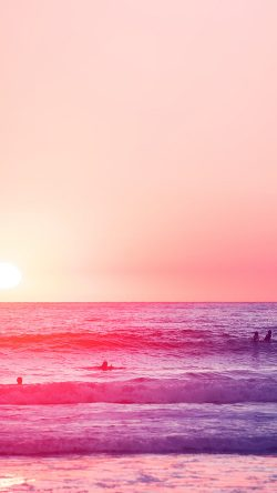 papers.co-mw95-happy-beach-sea-holiday-nature-fun-city-pink-33-iphone6-wallpaper