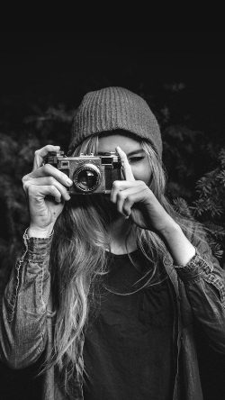 papers.co-mx77-photo-taking-girl-dark-cute-bw-33-iphone6-wallpaper