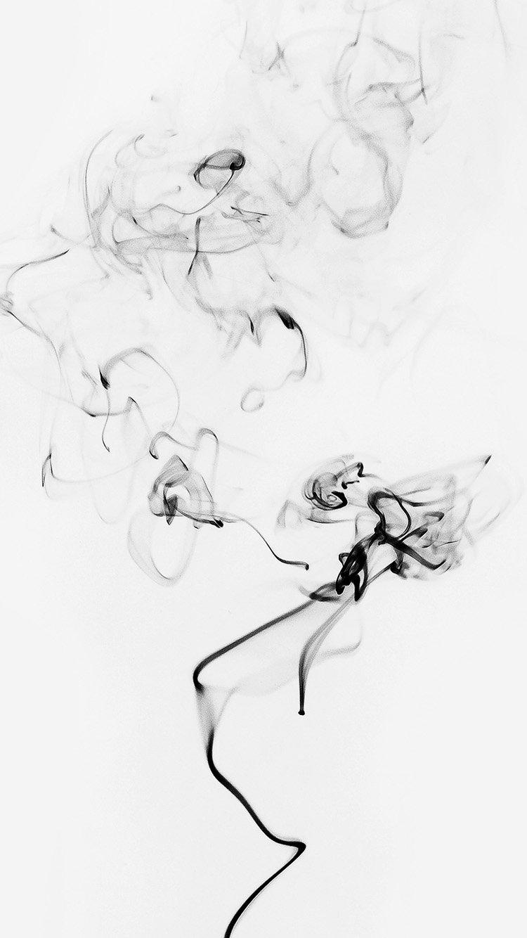 Iphone6paperscom Iphone 6 Wallpaper My41 Smoke Bw White