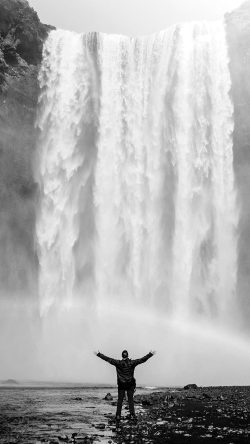 papers.co-my75-waterfall-rainbow-nature-mountain-bw-dark-33-iphone6-wallpaper