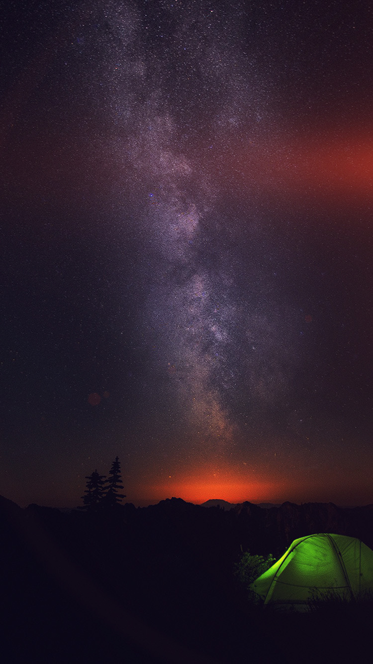 iPhone6papers co | iPhone 6 wallpaper | my85-camping-night-star