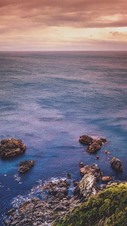 papers.co-na51-cliff-sea-ocean-rock-nature-blue-33-iphone6-wallpaper