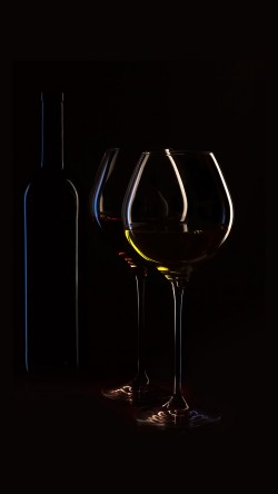 papers.co-nb32-wine-bottle-dark-black-party-33-iphone6-wallpaper