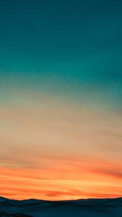 papers.co-nb66-sky-sunset-nature-orange-gradation-33-iphone6-wallpaper