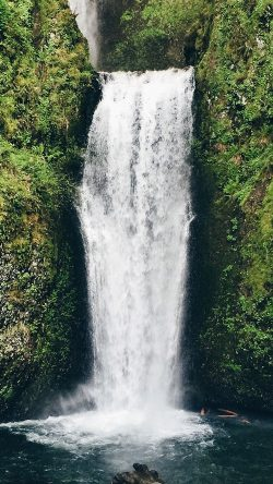 papers.co-nd49-waterfall-nature-vacation-green-33-iphone6-wallpaper