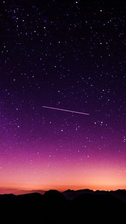 papers.co-ne63-star-galaxy-night-sky-mountain-purple-red-nature-space-33-iphone6-wallpaper