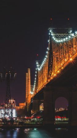 papers.co-nf73-bridge-night-river-city-lights-orange-33-iphone6-wallpaper