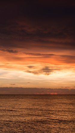 papers.co-nf92-sunset-lake-sea-water-sky-cloud-nature-33-iphone6-wallpaper