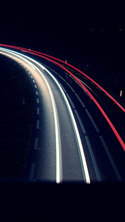 papers.co-nf95-road-night-car-street-light-blue-dark-33-iphone6-wallpaper
