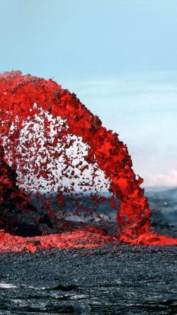 papers.co-nh70-lava-volcanic-magma-red-nature-fire-danger-mountain-33-iphone6-wallpaper