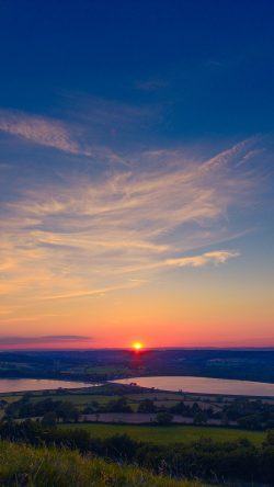 papers.co-ni14-sunset-peace-land-sky-blue-nature-33-iphone6-wallpaper
