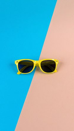 papers.co-nk47-minimal-glasses-pink-blue-yellow-33-iphone6-wallpaper